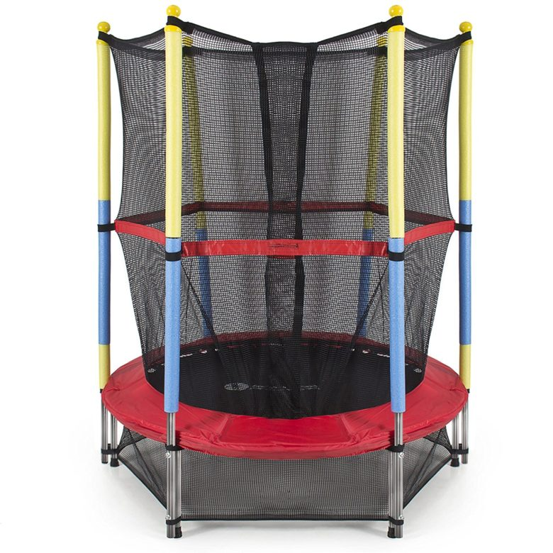 Best Choice Products 55 Round Kids Mini Trampoline