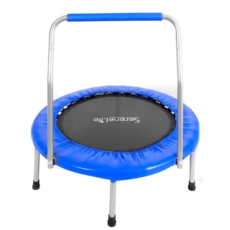 Serenelife 36 inches Portable & Foldable Trampoline