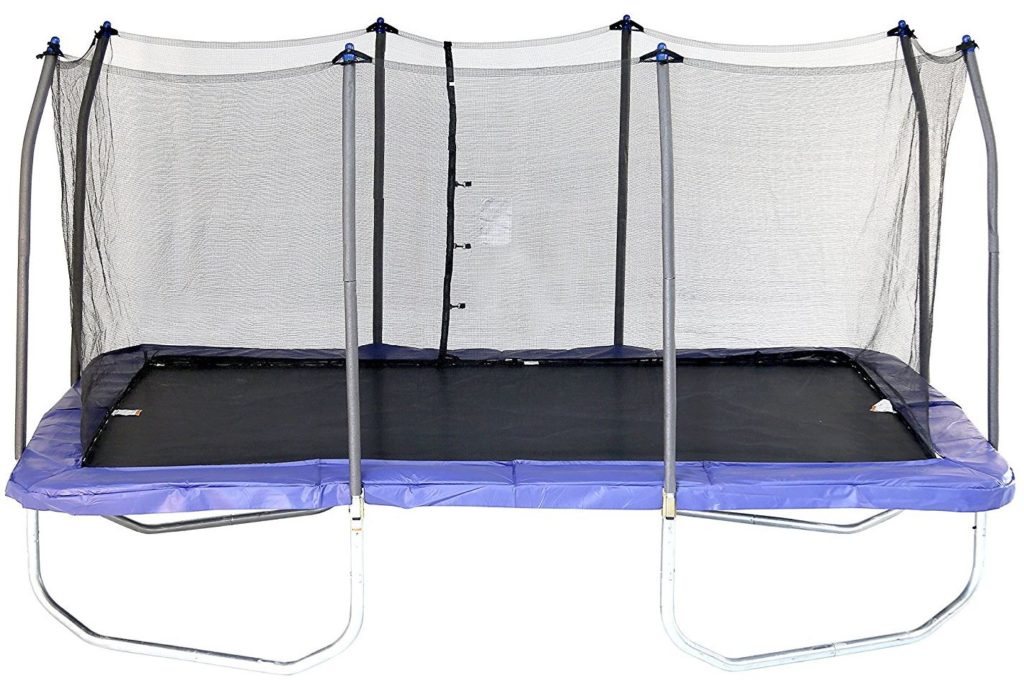 Skywalker Rectangle Trampoline with Enclosure 15 Feet