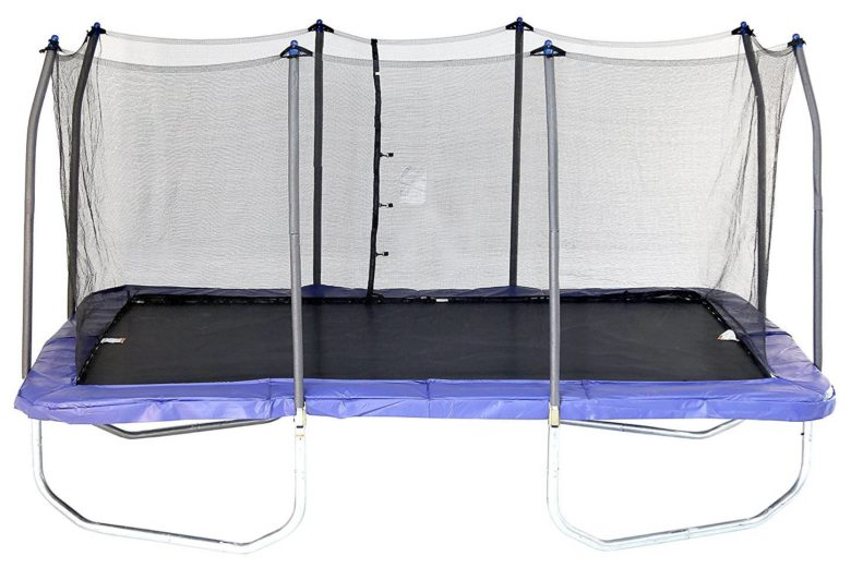 Skywalker Rectangle 15-feet Trampoline with Enclosure