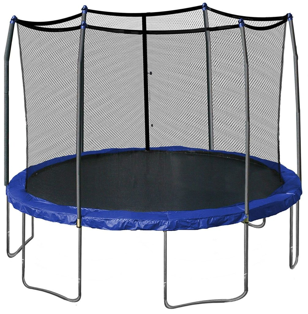 Skywalker Trampolines 12-Feet Round Trampoline with Enclosure