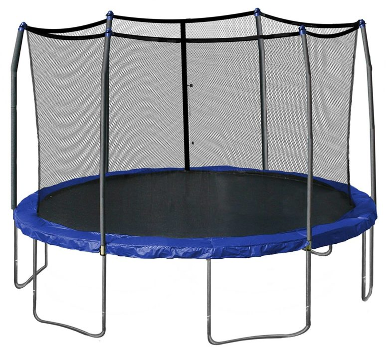 Skywalker Trampolines 15-Foot Round Trampoline and Enclosure
