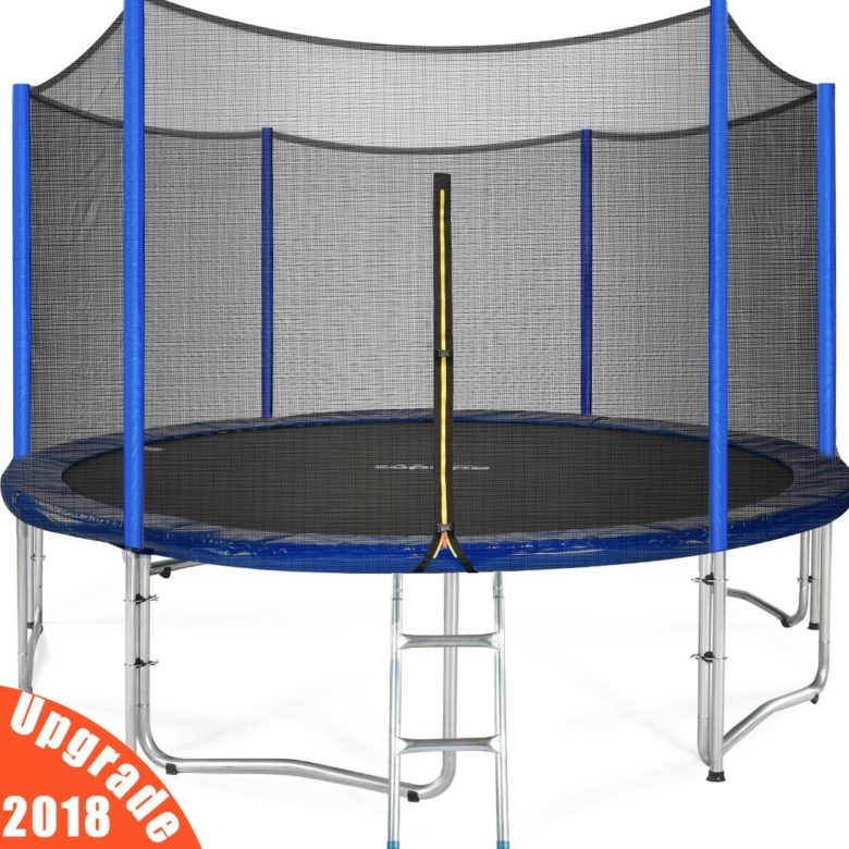 Zupapa 15 14 12 Ft Tuv Approved Round Trampoline With